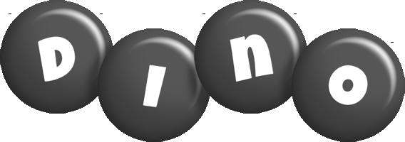 Dino candy-black logo