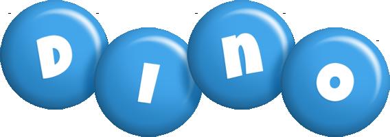 Dino candy-blue logo