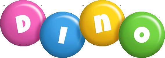 Dino candy logo