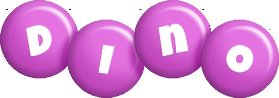 Dino candy-purple logo