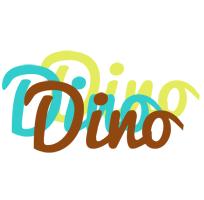 Dino cupcake logo