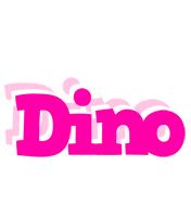 Dino dancing logo