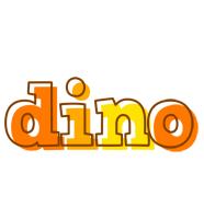 Dino desert logo