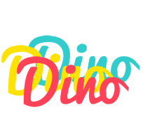 Dino disco logo