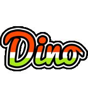 Dino exotic logo