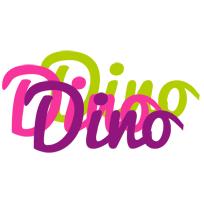 Dino flowers logo