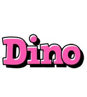 Dino girlish logo