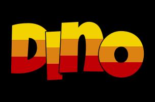 Dino jungle logo