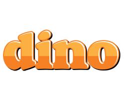 Dino orange logo