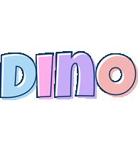 Dino pastel logo