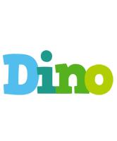 Dino rainbows logo