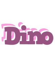 Dino relaxing logo