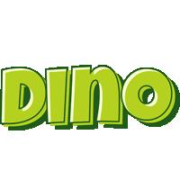 Dino summer logo
