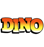 Dino sunset logo