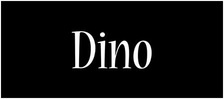 Dino welcome logo