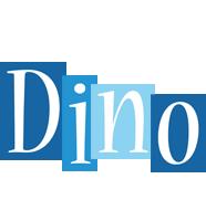 Dino winter logo