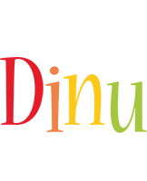 Dinu birthday logo