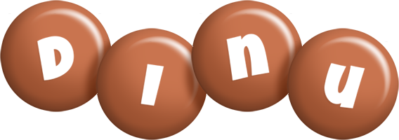 Dinu candy-brown logo