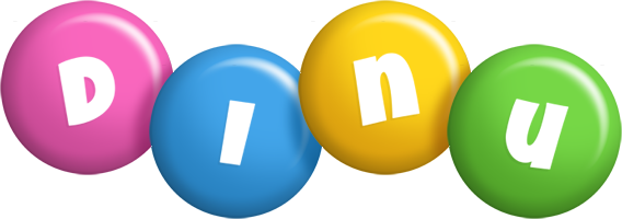 Dinu candy logo