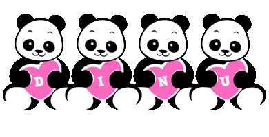 Dinu love-panda logo