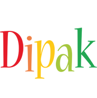Dipak birthday logo