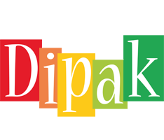 Dipak colors logo