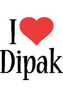 Dipak i-love logo
