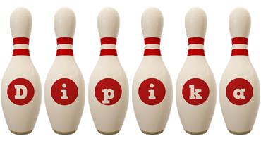 Dipika bowling-pin logo