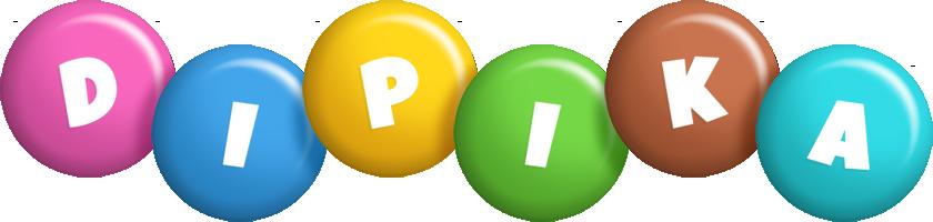 Dipika candy logo