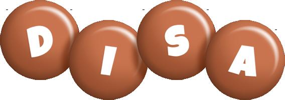 Disa candy-brown logo
