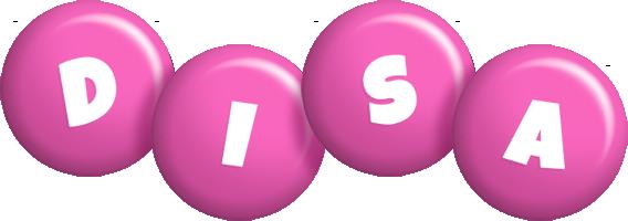 Disa candy-pink logo