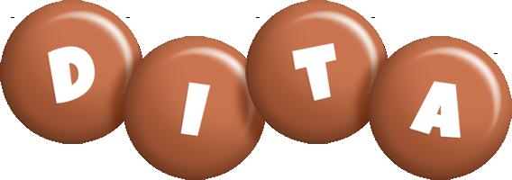 Dita candy-brown logo