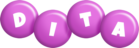 Dita candy-purple logo