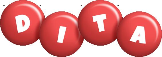 Dita candy-red logo
