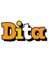 Dita cartoon logo