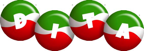 Dita italy logo