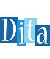 Dita winter logo