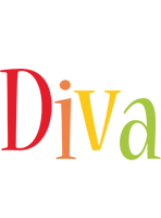 Diva birthday logo