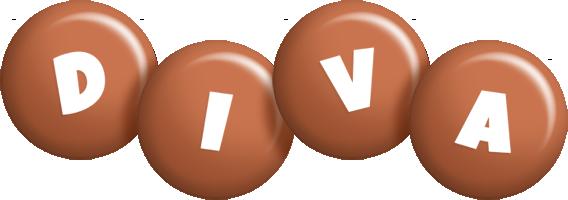 Diva candy-brown logo