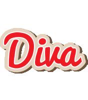 Diva chocolate logo