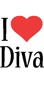 Diva i-love logo