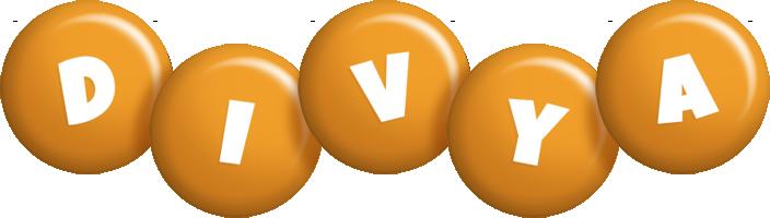 Divya candy-orange logo