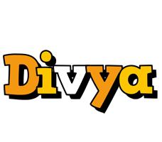 Divya cartoon logo