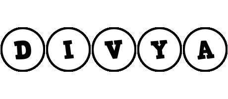 Divya handy logo