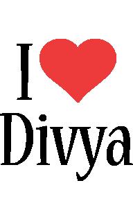 Divya i-love logo