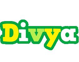 Divya soccer logo