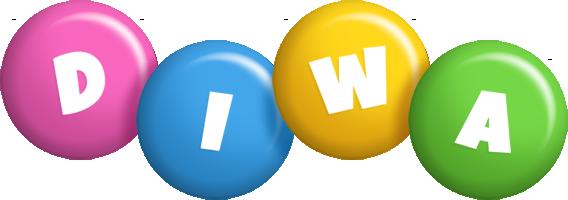 Diwa candy logo