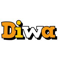 Diwa cartoon logo