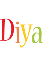 Diya birthday logo
