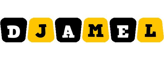 Djamel boots logo